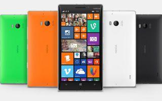 Новые смартфоны на базе Microsoft Phone