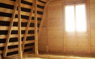 Как утеплить крышу чердачного помещения