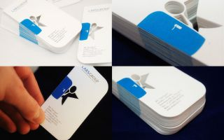 Разработка отличного дизайна визитки