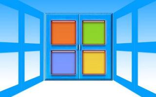 Основные категории в панели управления Windows 7
