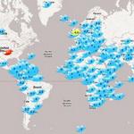 Twitter запускает карту фолловеров