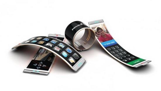 Philips Fluid: и браслет, и телефона