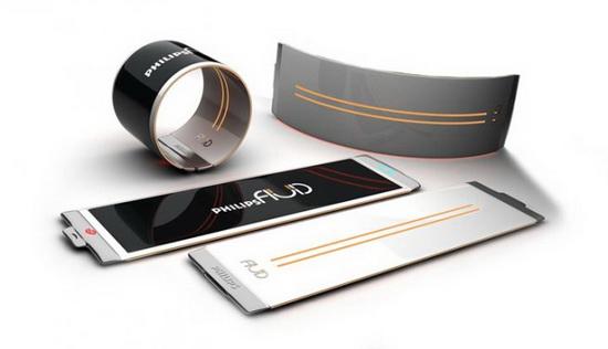Philips Fluid: и браслет, и телефон