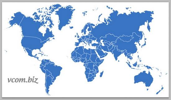 Каталог предприятий ru.vcom.biz в России и во всем мире