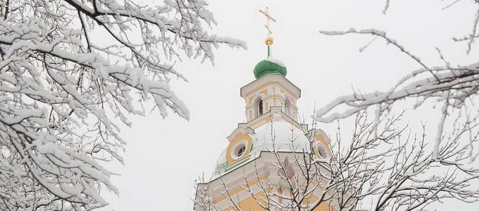 Санкт-Петербург в Новый год