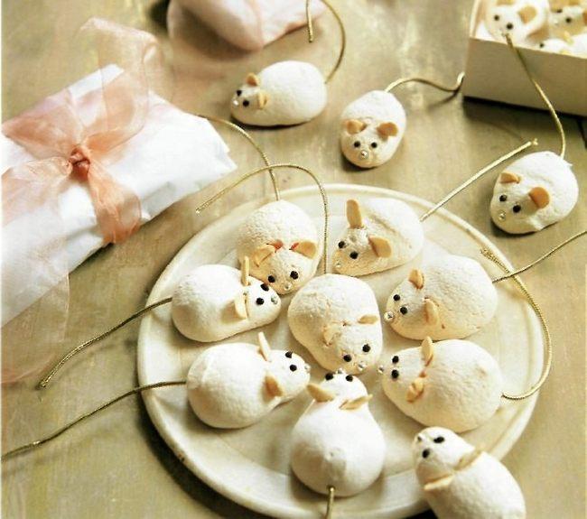 Печенье в форме крысы