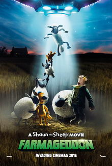 постер к мультфильму Барашек Шон: Фермагеддон (2020)
